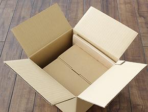 ハコボ6号用にロールケーキ箱2つと紙袋No1