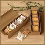 クラフト箱をコンプリートしたいケーキ屋さんにぴったりのケーキ箱シリーズ。ハコデコ・ユーニ。