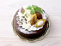 ブラウニーやガトーショコラにピッタリのホールケーキ箱とシフォンケーキ箱