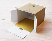 UNIクラフトデコ箱にピッタリお似合いのかわいい紙トレー