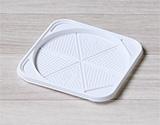 クラフトホールケーキ箱にピッタリの価格重視なプラスチックトレー