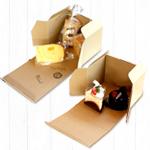 """""""アレにもコレにも!""""兼用箱をお探しのケーキ屋さんなら必見のケーキ箱シリーズです。"""